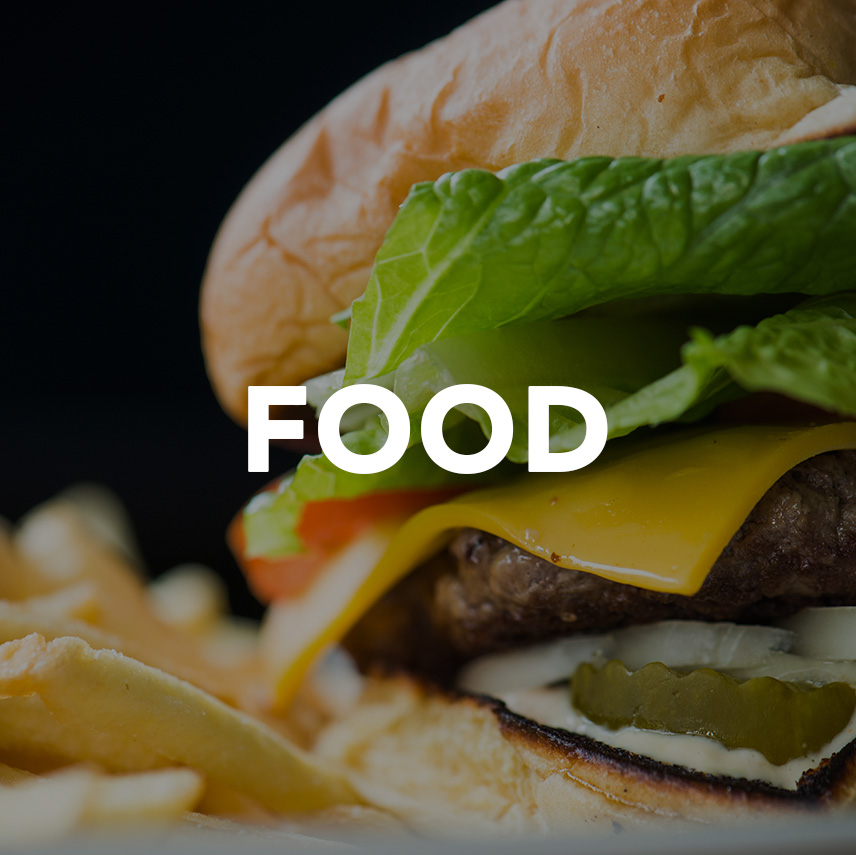 Blueflash Commercial Food Landing Page Photo